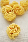 Ribbon pasta nests