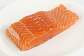 A piece of salmon fillet