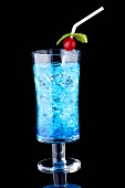 Oasis Cocktail (Gin, Blue Curacao, Tonic Water, Crushed Ice)