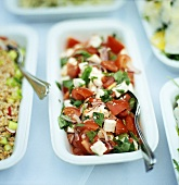 Tomato and sheep's cheese salad