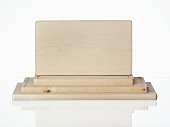 Several wooden chopping boards
