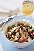 Bowl of Nicoise Salad