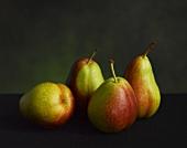 Four Whole Pears
