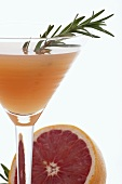 Rose Marie Cocktail (Grapefruit Juice, Gin, Rosemary Syrup)