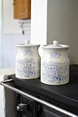 Tea and coffee jars