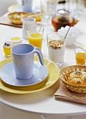 Breakfast table (detail)