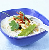 Vegetable soup with coconut milk (Thailand)