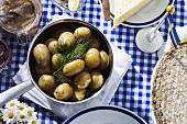 Midsummer buffet (Sweden)