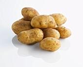 A heap of potatoes