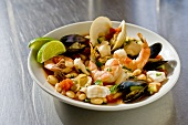 Bowl of Mexican Seafood Stew