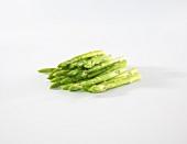 Baby green asparagus