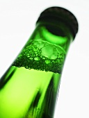 Beer bottle neck (close-up)
