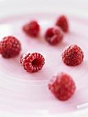 Seven raspberries