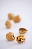 Walnuts, unshelled and shelled