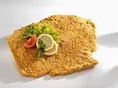 Breaded pork escalope