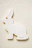 Easter biscuits (white Easter Bunny)