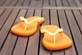 Flip-flops on decking