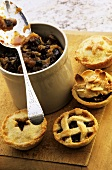 Various mince pies