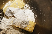 Baking Ingredients in a Bowl Ready for Mixing