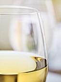Weissweinglas (Ausschnitt)