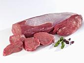 Fresh fillet of beef