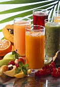 Various fruit juices