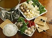 Asian fondue