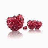 Five raspberries