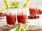 Bloody Mary mit Staudensellerie