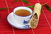 Woad root tea (Isatidis Radix)
