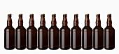 Eine Reihe helles Bier (Lager)