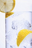 Energy drink with lemon