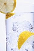 Energy drink with lemon