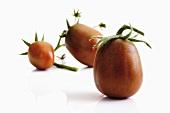 Tomatoes (heirloom variety: Black Plum)