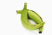 Two plantains, close-up