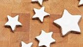 Rotating cinnamon stars