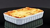 Lasagne in einer Auflaufform