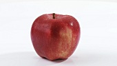 A rotating red apple