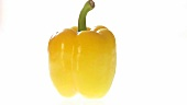 A yellow pepper
