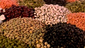Assorted pulses (close-up)