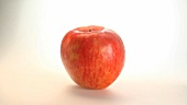 A rotating apple