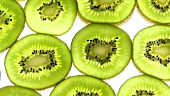 Slices of kiwi fruit