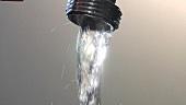 A running tap