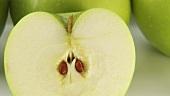 Viele Granny Smith Äpfel