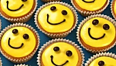 Cupcakes with happy faces