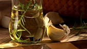 Rosemary oil with garlic