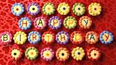 Verzierte Cupcakes zum Geburtstag