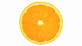 A rotating slice of orange