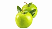 Two Granny Smith apples