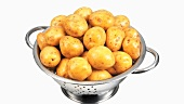Potatoes in a colander